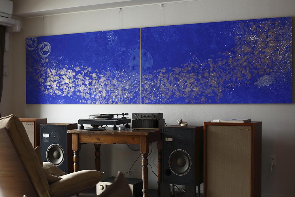 「ミズハ blue introduction」ある音楽家のための唐紙